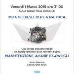 evento motore 1 marzo 2019
